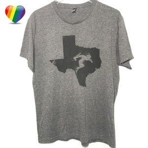 Savage Race Texas Gray Graphic Tee Shirt A000013